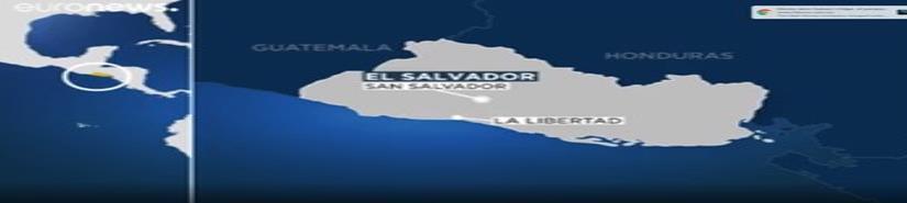 El Salvador levanta la alerta de tsunami tras el terremoto de magnitud 6,8 (VIDEO)