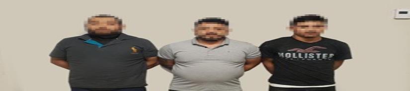 Tras denuncia anónima al 089 arrestan a sujetos armados