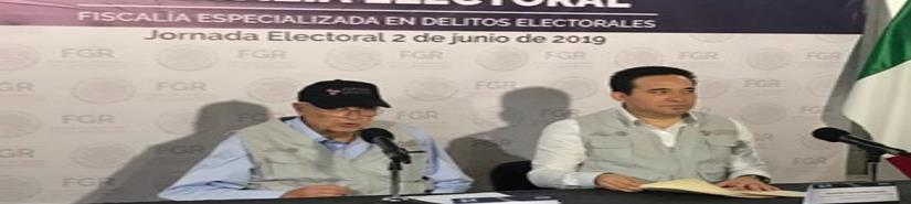 Fiscalía recibe 158 denuncias por posibles delitos electorales
