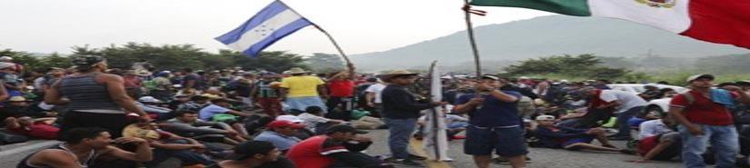 Nueva caravana de centroamericanos busca cruzar Chiapas