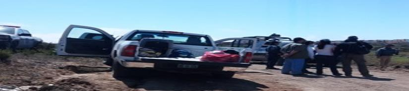 Realizan búsqueda de restos humanos en Delicias