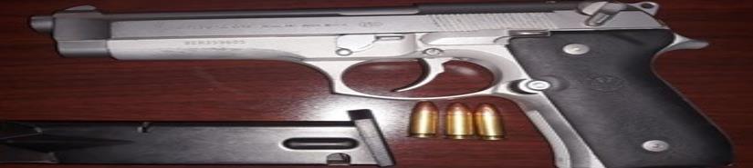 Aseguran a sujeto con armas de fuego de alto poder