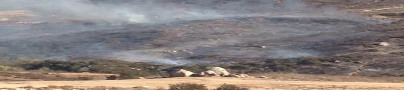 Preparan acciones para prevenir los incendios en San Quintín