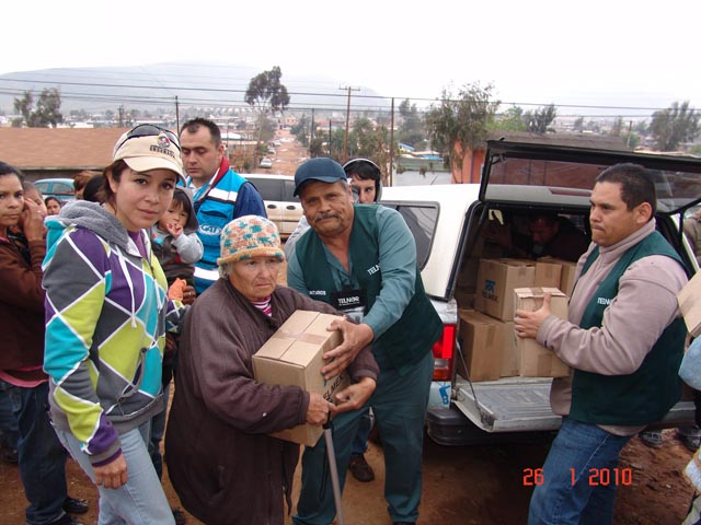 Ayuda para las familias afectads por las lluvias