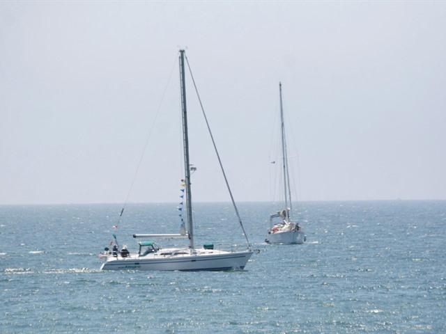 Regata en New Port Beach