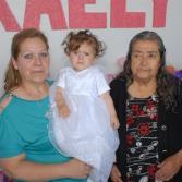 Bautizo y Cumpleaños de Kaely Tortolero