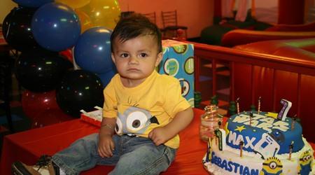 Bautizo de Sebastian y cumpleaños Maximiliano cuple 7 añitos