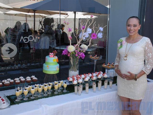 Baby Shower de Melissa Rojan en el salón Voga