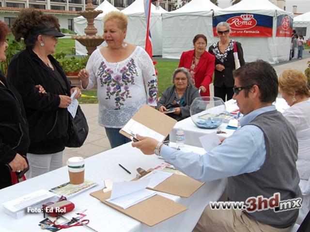 Feria de la salud en Rosarito