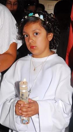 Primera Comunión Daneli Moran Rodriguez