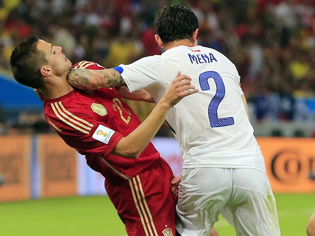 España fuera del Mundial 2014