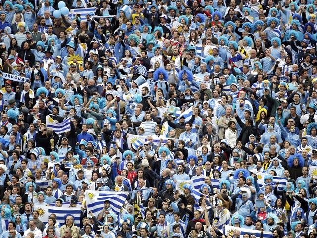 Uruguay vence a Inglaterra
