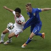 ¡Costa Rica vence al tetracampeón mundial Italia!