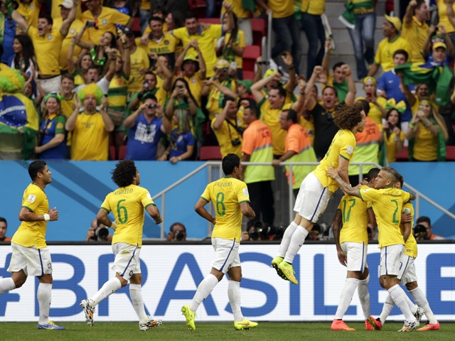 Equipos en Octavos Mundial Brasil 2014