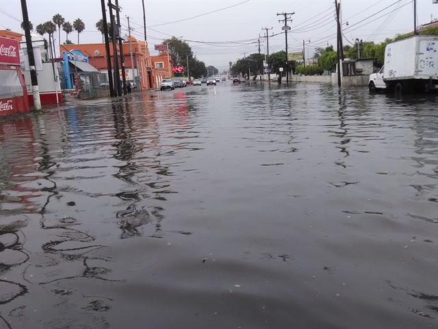 Lluvia en Ensenada