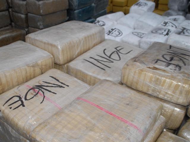 Mega decomiso de marihuana en Tijuana