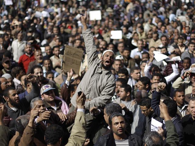 Protestas en Egipto