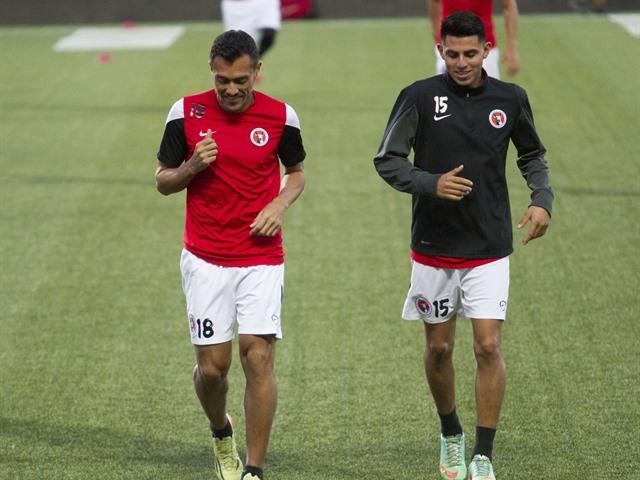Entrenamiento de Xolos previo al juego ante Jaguares
