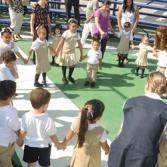 Regreso A Clases Clase Abierta Papas e Hijos Del Instituto Miguel De Cervantes (Kinder)