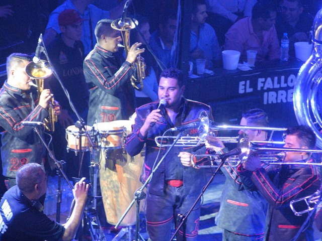 Banda MS en el Palenque 2014