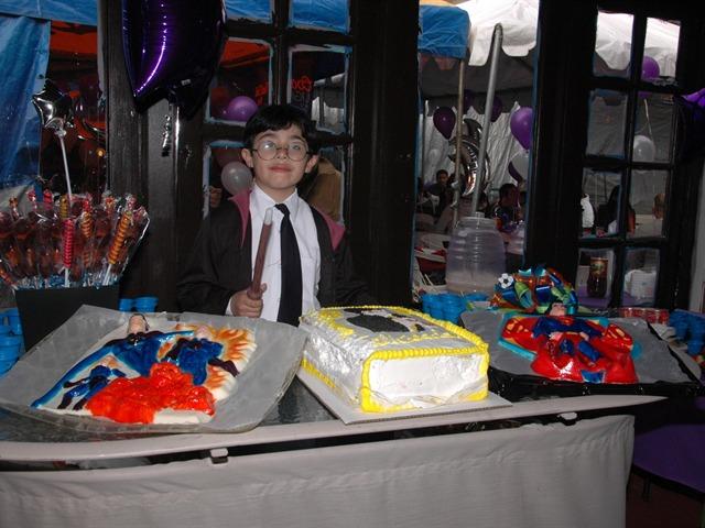 Cumpleaños de Sergio Enrique Rubio