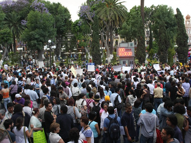 Marcha contra la violencia
