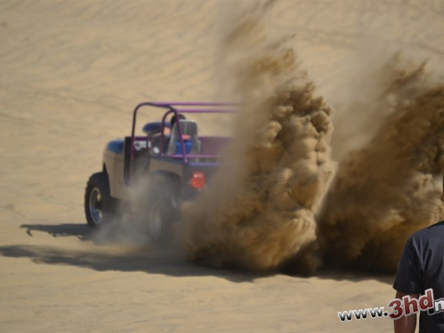 Arrancones en los arenales durante Semana Santa