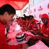 Firma de autógrafos del Club Tijuana