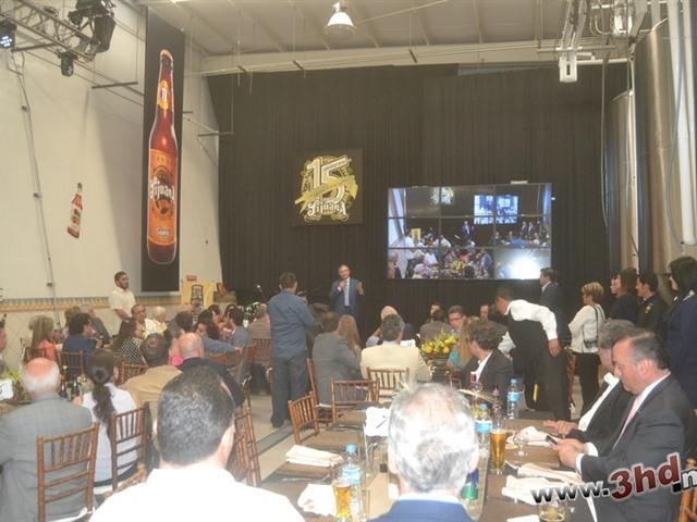 Festejos del XV aniversario de la Cerveza Tijuana