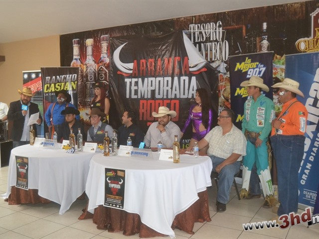 Anuncian temporada 2015 de Rodeo en Rancho casian