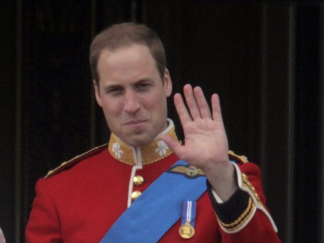 Imagen del apuesto príncipe William
