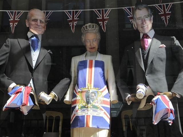 Ambiente en la boda real