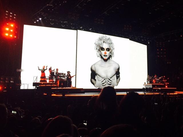 Madonna en Las Vegas