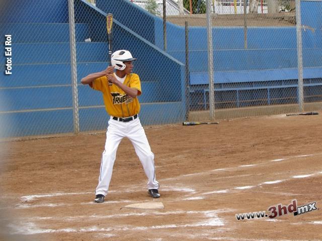 Juego de Estrellas de la Liga Infantil de Beisbol en Rosarito