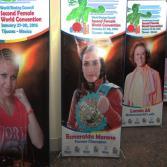 Coctel de bienvenida de convención mundial femenil CMB
