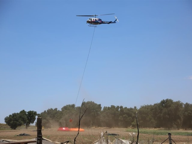 Incendio en Sierra de Juárez