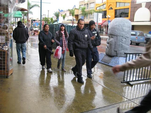 Lunes lluvioso en Tijuana