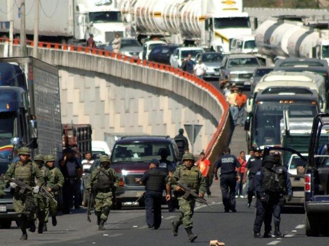 Enfrentamientos en Guerrero