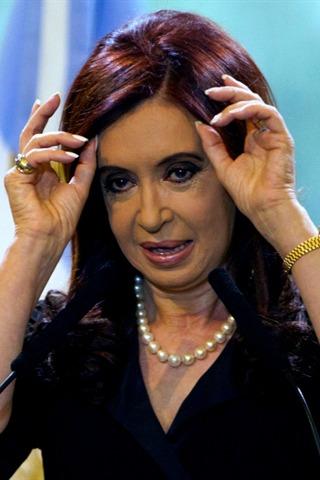 Cristina Fernández de Kirchner, enferma de cáncer