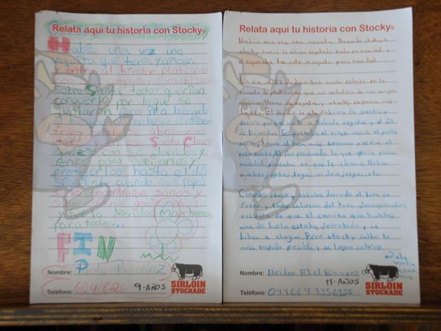 Escriben historia y ganan en Sirloin Stockade
