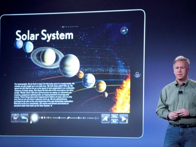 El nuevo gadget de Apple, el Textbook