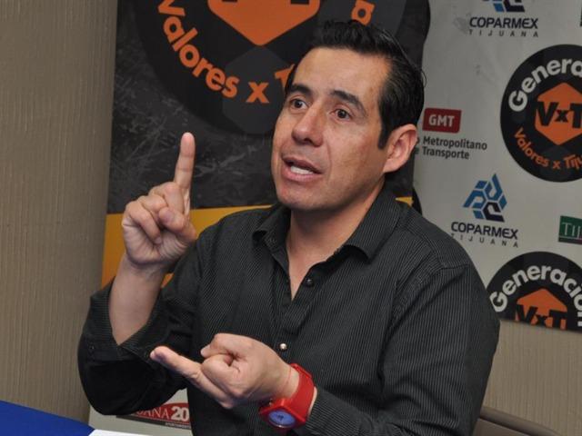 Yordi Rosado en Tijuana