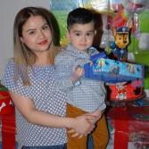Festejando su cumpleaños Efren Salazar en SKY ZONE.