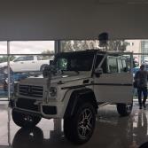 Presentación de nuevo modelo Mercedes Benz