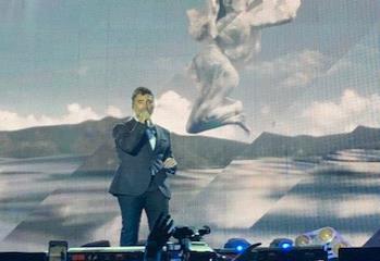 Alejandro Fernandez concierto en Bodegas de Santo Tomas