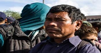 Migrantes Centroamericanos arriban a zona de El Chaparral