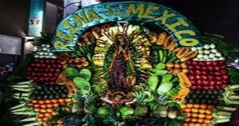 Celebración a la Virgen de Guadalupe en Tijuana