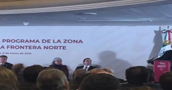 Llega AMLO a Tijuana a presentar Zona Libre