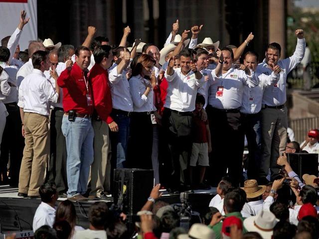 Cierran campaña candidatos a la Presidencia