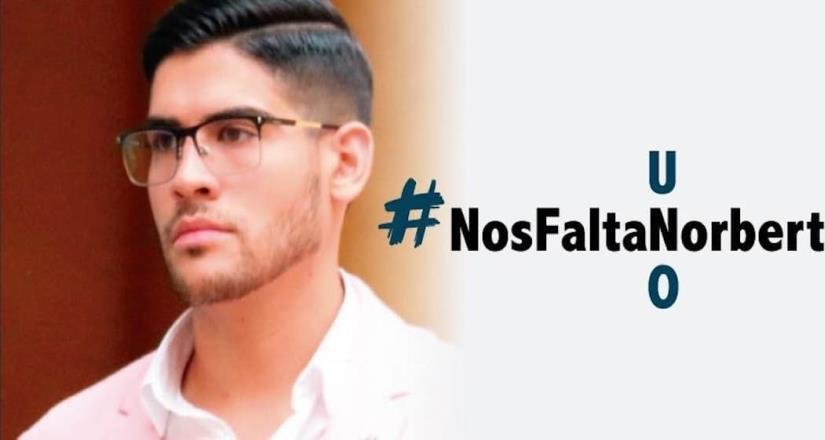 Localizan sin vida a Norberto, joven universitario secuestrado